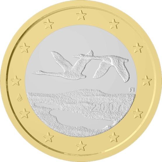 L'artista di Lavia ha immortalato il paesaggio comunale nel retro della  moneta da 1 euro finlandese.
